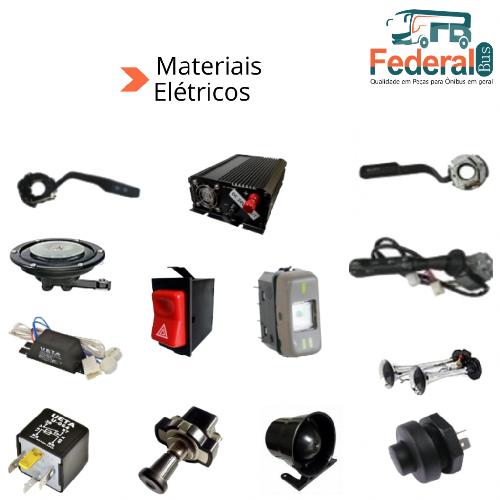 Materiais elétricos para ônibus
