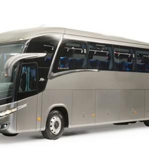 Para-brisa de ônibus